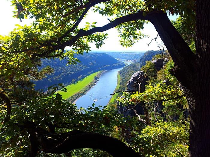 6 Tage Wanderreise mit Hund Malerweg Elbsandsteingebirge