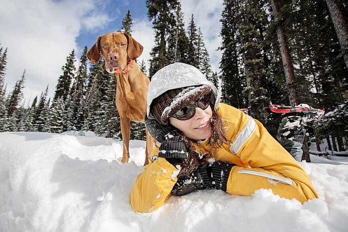 Schneeschuhwandern mit Hund - Geführte Gruppenreise mit Schneeschuhwandertouren - travel4dogs